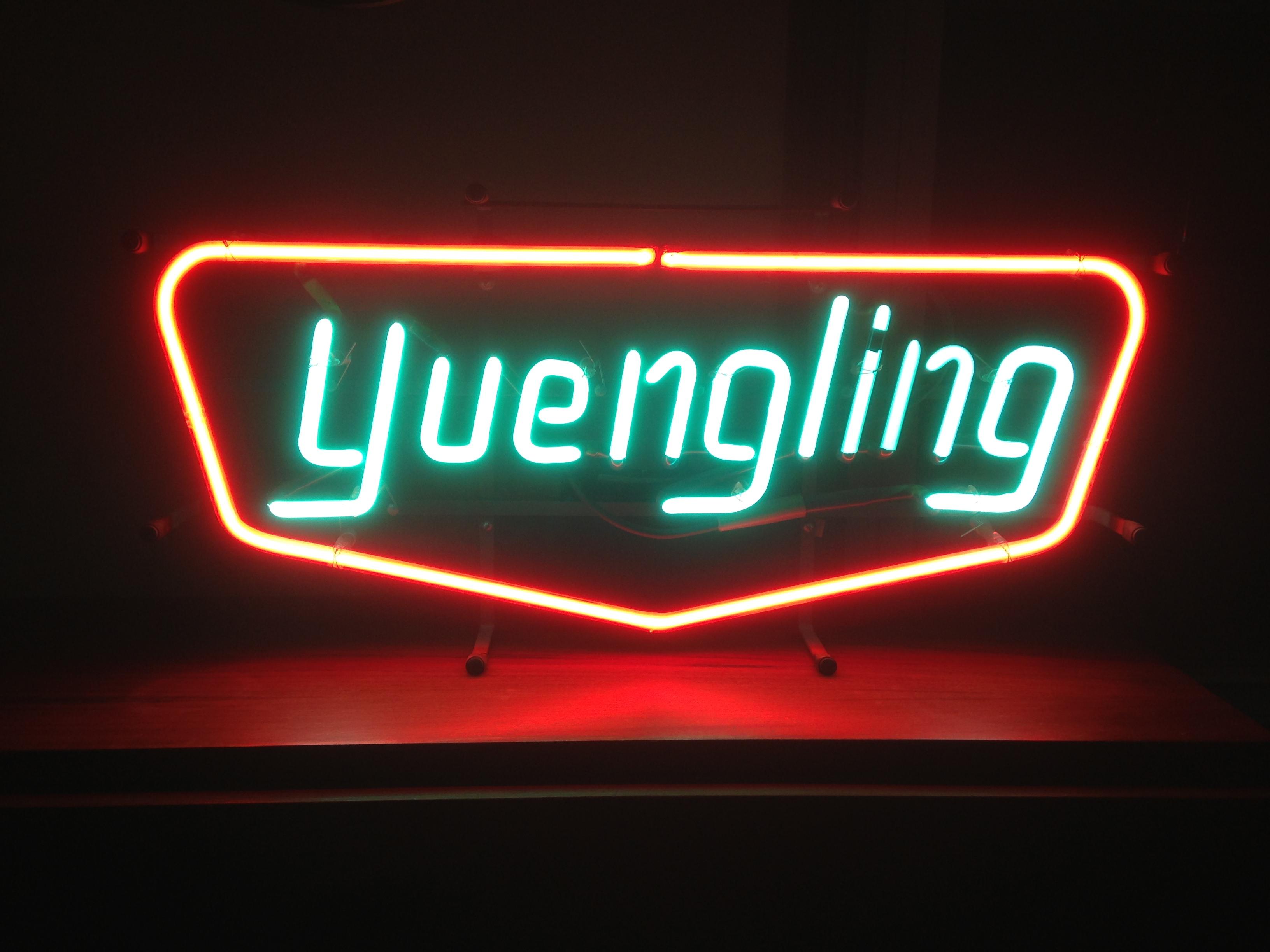 Yuengling Neon Sign